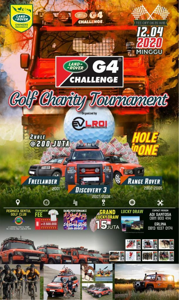G4 Challenge Golf Charity Event Indonesia